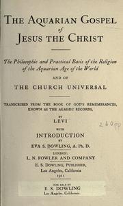 Aquarian Gospel