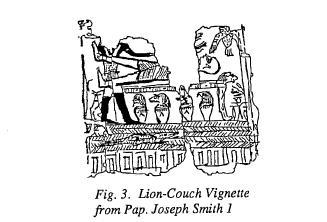 Lion-couch Vignette from Papyrus Joseph Smith 1-Figure 3
