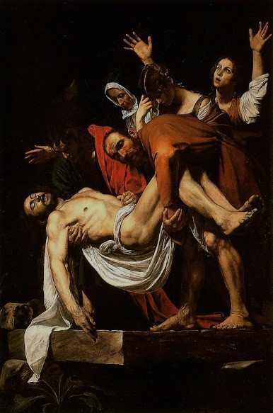 Caravaggio's The Entombment of Christ (ca. 1602)