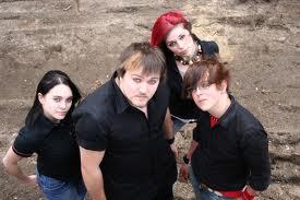 Family Wearing Black