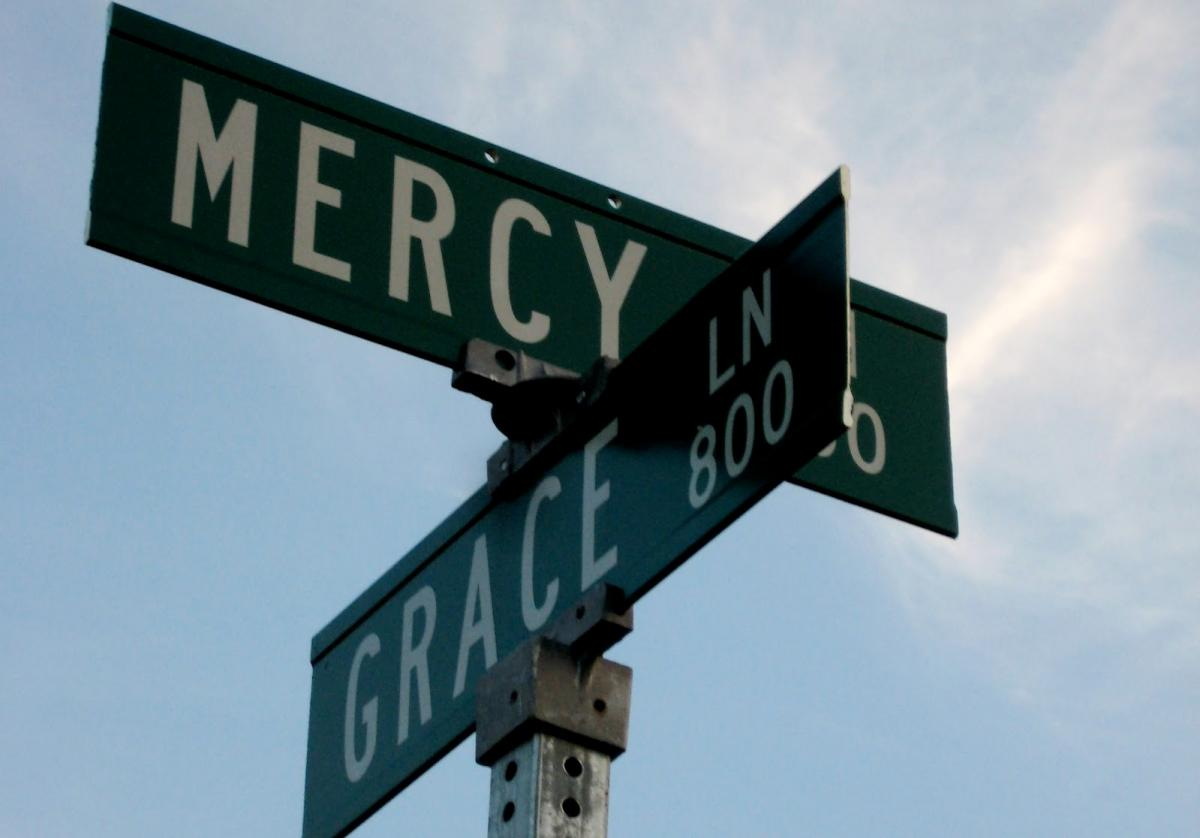 Mercy And Grace Signs