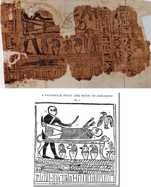 Papyrus Joseph Smith 1 and Facsimile No. 1