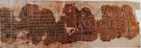 Actual Book of Abraham Papyrus Scroll