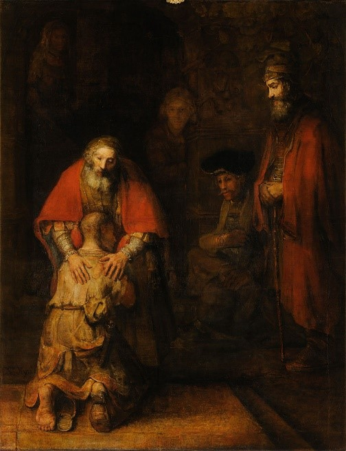 Rembrandt, The Return of the Prodigal Son, 1660s