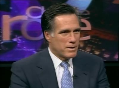 Mitt Romney on Charlie Rose Show