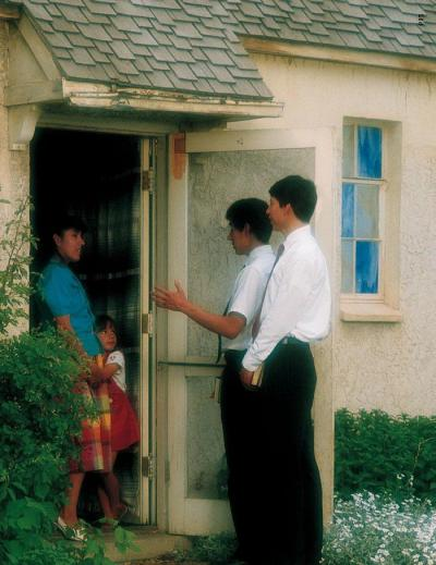 Mormons At The Door