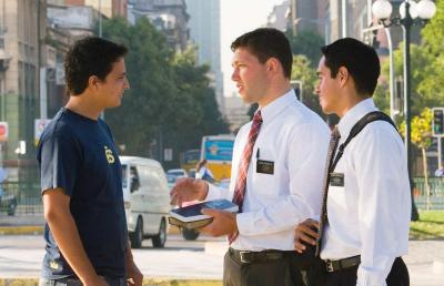 Mormons In The Street