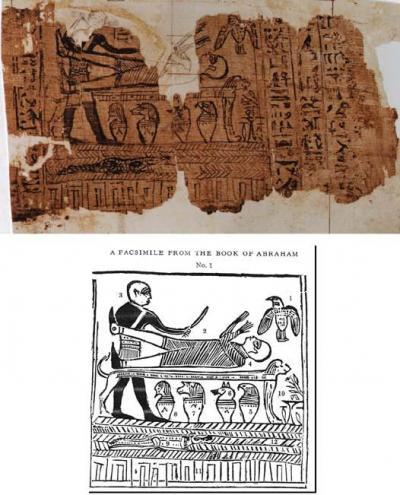 Papyrus Joseph Smith 1 and Facsimile No. 1
