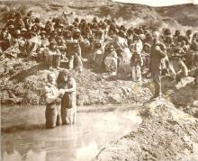 Mormons Baptizing Indians